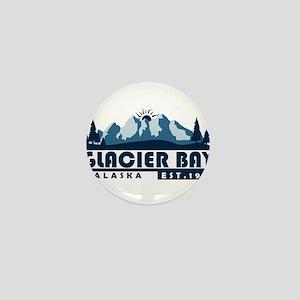 Glacier Bay - Alaska Mini Button