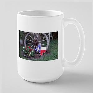 Texas wagon wheel Mugs
