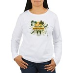 Palm Tree Maryland Women's Long Sleeve T-Shirt