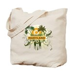 Palm Tree Maryland Tote Bag