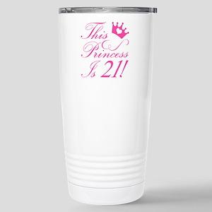 21st Birthday Princess Mugs