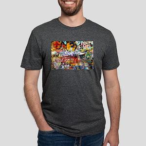 All Love is Free Graffiti T-Shirt