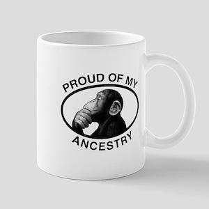 Proud of my Ancestry Chimp Mug