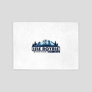 Isle Royale - Michigan 5'x7'Area Rug