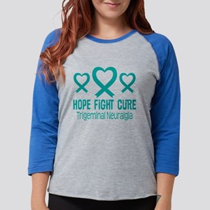 Trigeminal Neuralgia TN Ribbon Long Sleeve T-Shirt