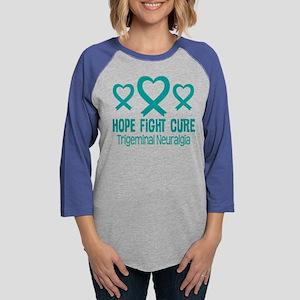 Trigeminal Neuralgia TN Ribbon Long Sleeve T-Shirt