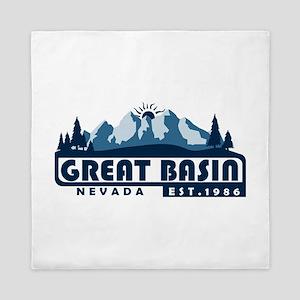 Great Basin - Nevada Queen Duvet