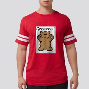 Grrrrrrrr! (Bear) Ash Grey T-Shirt