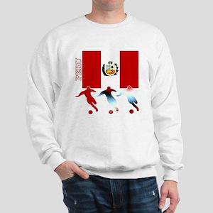 soccer peru drk Sweatshirt
