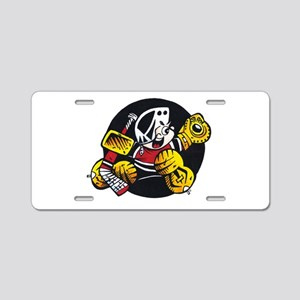 Official Small Saves Logo Aluminum License Plate