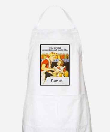 This is what an antifeminist BBQ Apron