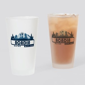 Acadia - Maine Drinking Glass