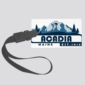 Acadia - Maine Large Luggage Tag