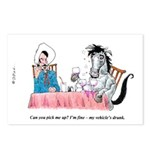 Drunk Horse Postcards (Package of 8)