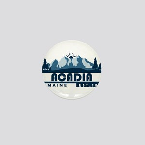 Acadia - Maine Mini Button