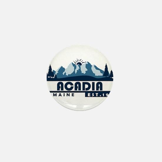Acadia - Maine Mini Button