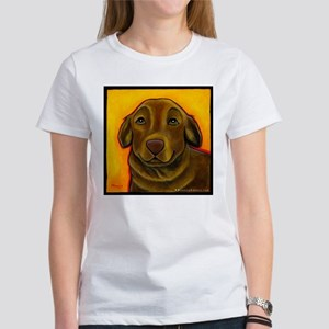 Chocolate Labrador Retriever Women's T-Shirt