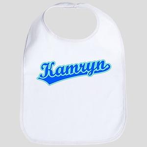 Retro Kamryn (Blue) Bib