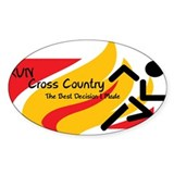 Personalized cross country runner 50 Pack