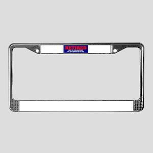co-worker License Plate Frame