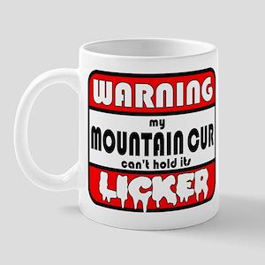 Mountain Cur LICKER Mug