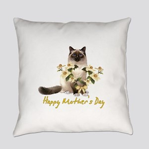 Mother's Day Cat Everyday Pillow