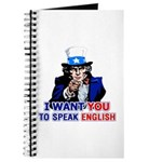 I Want You To Speak English Journal