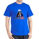 I Want You To Speak English Dark T-Shirt