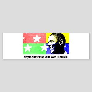 Rock Star Obama 08 Bumper Sticker