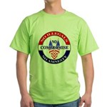 No Amnesty Green T-Shirt