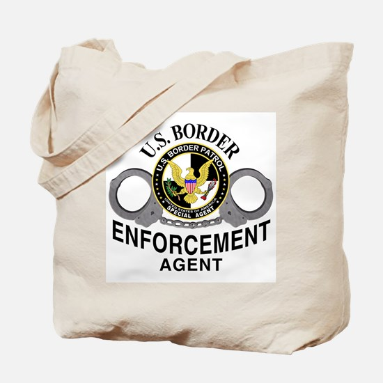 Border Patrol Agent Tote Bag