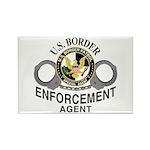 Border Patrol Agent Rectangle Magnet
