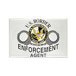 Border Patrol Agent Rectangle Magnet (10 pack)