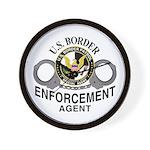 Border Patrol Agent Wall Clock