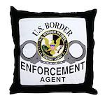 Border Patrol Agent Throw Pillow