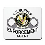 Border Patrol Agent Mousepad