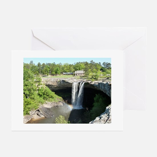 Noccalula Falls Gadsden Alabama Wate Greeting Card