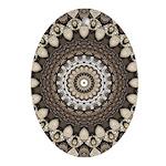 Tempus Fugit Oval Ornament