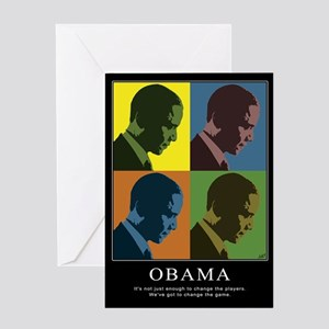 Limited Edition Obama Greeting Card
