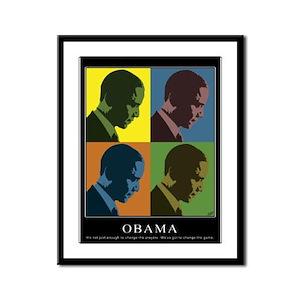 Limited Edition Obama Framed Panel Print