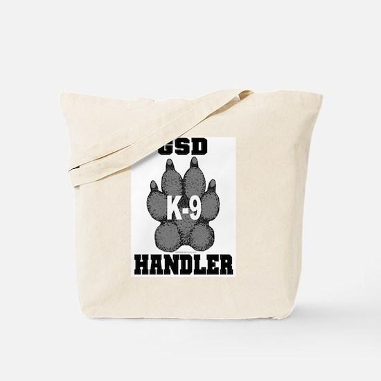GSD K9 Handler Tote Bag