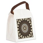 Tempus Fugit Canvas Lunch Bag