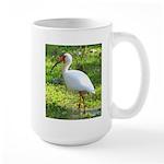 White Ibis Large Mug