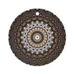 Tempus Fugit Round Ornament