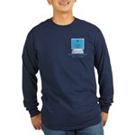 Wired Masons Long Sleeve Dark T-Shirt