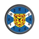 Scottish Flag Wall Clock
