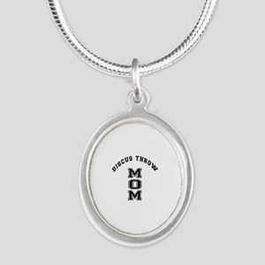 Muay Thai Martial Arts Therap Silver Oval Necklace