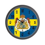 Swedish Flag Wall Clock