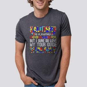 Autism Is Journey Never Planned Im An Auti T-Shirt