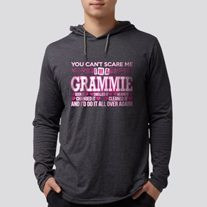 You Cant Scare Me Im Grammie D Long Sleeve T-Shirt